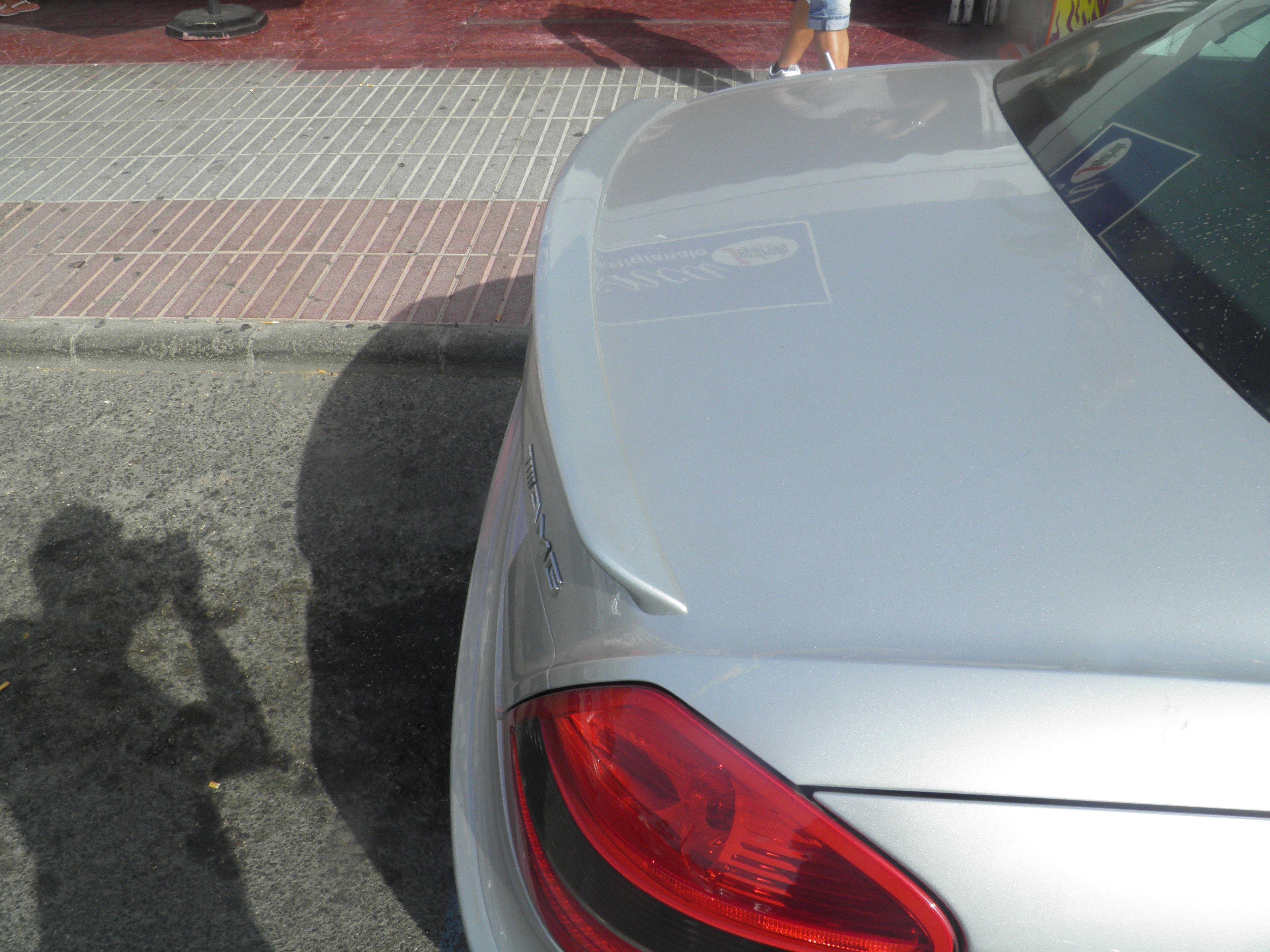 XTT Adecuado para Mercedes Benz SLK Clase R171 Slk200 Slk280 Slk300 Slk350 Spoiler De Estilo R 2004-2010 ala De Aler/ón Trasero De Fibra De Carbono Real